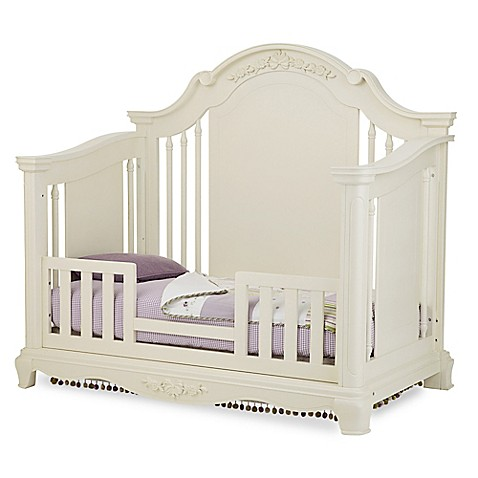 Bassettbabyreg PREMIER Addison Toddler Guard Rail In Pearl White