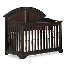 image of HGTV HOME™ Baby Kinston 4-in-1 Convertible Crib in Antique Java