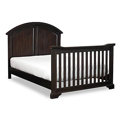 buy hgtv home baby kinston full size bed rails in antique java from bed bath beyond. Black Bedroom Furniture Sets. Home Design Ideas