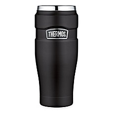 Thermos Stainless Steel King 16 Oz Vacuum Insulated Travel Tumbler