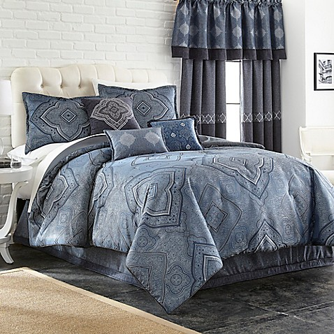 evender 7 piece comforter set bed bath beyond