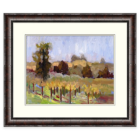 Napa valley framed wall art bed bath beyond for Napa valley home decor