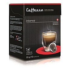 image of Caffesso™ 10-Count Intenso Nespresso Compatible Capsules