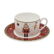 image of P by Prouna Nutcracker Teacup and Saucer