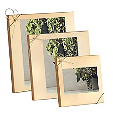 image of Vera Wang Wedgwood® Love Knots Gold Picture Frame