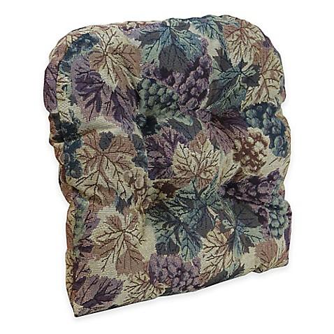 Klear Vu Universal Cabernet Gripper 174 Chair Pad In Multi