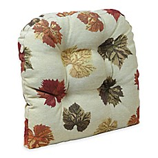 Image Of Klear Vu Universal Falling Leaves Gripper® Chair Pad In Multi