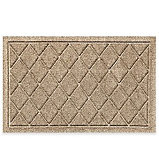 image of Weather Guard™ 20-Inch X 30-Inch Argyle Door Mat in Camel