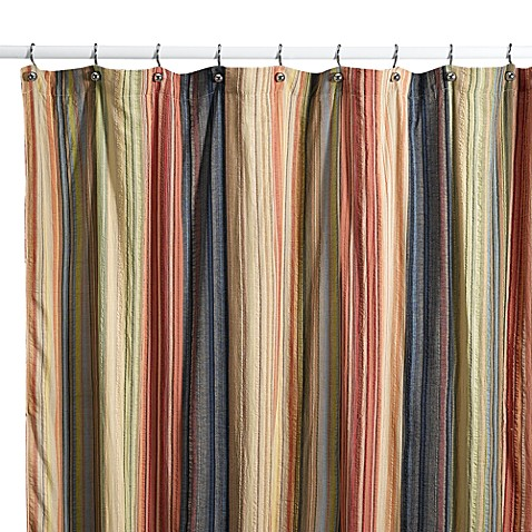 Retro Chic Fabric Shower Curtain 100 Cotton Bed Bath Beyond