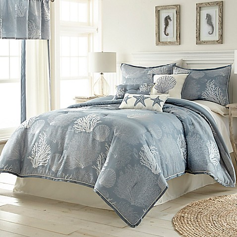 Siesta Key Comforter Set In Blue Bed Bath Beyond