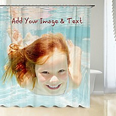 image of Photo Upload Shower Curtain