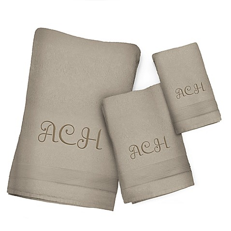 Buy Fingertip Towel In Taupe From Bed Bath Beyond