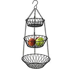 image of New American 3-Tier Hanging Basket