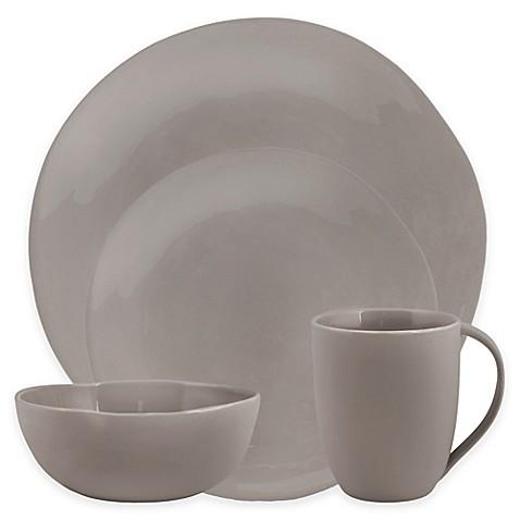 Artisanal Kitchen Supplyu0026reg; Curve Dinnerware Collection ...  sc 1 st  Bed Bath u0026 Beyond & Artisanal Kitchen Supply® Curve Dinnerware Collection in Grey - Bed ...