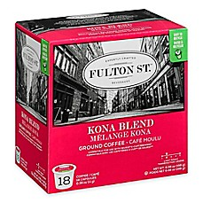 image of 18-Count Fulton St.® Kona Blend RealCup™ Coffee for Single Serve Coffee Makers