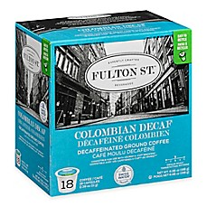 image of 18-Count Fulton St.™ Colombian Decaf RealCup® Coffee for Single Serve Coffee Makers