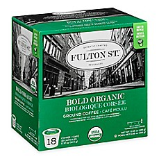 image of 18-Count Fulton St.® Bold Organic RealCup™ Coffee for Single Serve Coffee Makers