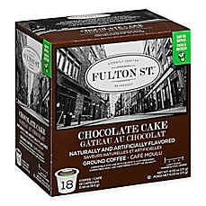 image of 18-Count Fulton St.® Chocolate Cake RealCup™ Coffee for Single Serve Coffee Makers