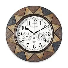 Superieur Slate Indoor/Outdoor Wall Clock