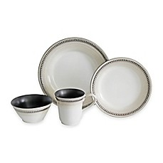 image of Baum Bellepoint 16-Piece Dinnerware Set in Sand