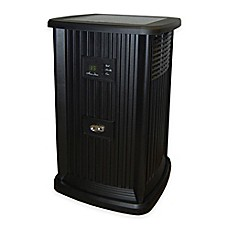 image of Essick Air AIRCARE Evaporative Pedestal Humidifier in Black
