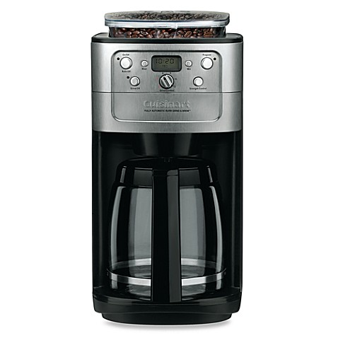 image of cuisinart grind u0026 brew 12cup automatic coffee maker - K Cup Brewers