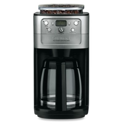 Cuisinart Automatic Grind And Brew Coffee Maker Problems : Cuisinart Grind & Brew 12-Cup Automatic Coffee Maker - Bed Bath & Beyond
