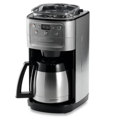Cuisinart Grind Brew Thermal 12Cup Automatic Coffee Maker Bed