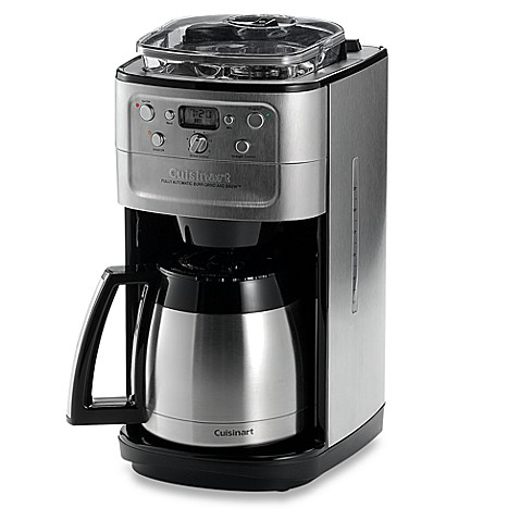 cuisinart 12 cup coffee maker cuisinart 174 grind amp brew thermal 12 cup automatic coffee 29420
