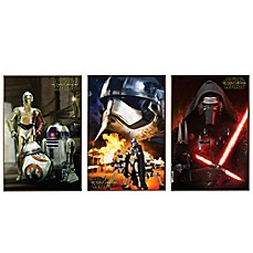 Image Of Star Wars™ Episode VII Wall Décor Plaques