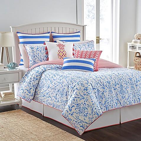 Southern tide coastal ikat reversible comforter set in for Southern tide bedding