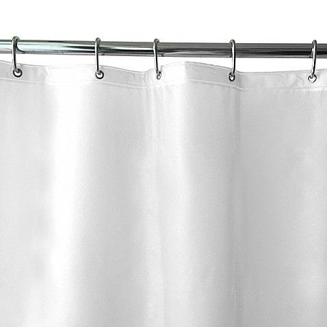 Buy Shimmer Peva Shower Curtain Liner In Frosted From Bed Bath Beyond
