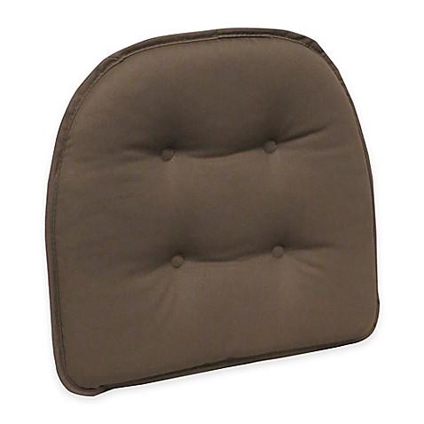 Buy Klear Vu Tufted Twill Gripper 174 Chair Pad In Dark Brown