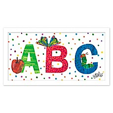 image of Eric Carle ABC Polka Dots Wall Art