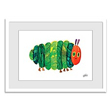 image of Eric Carle Fat Caterpillar Wall Art