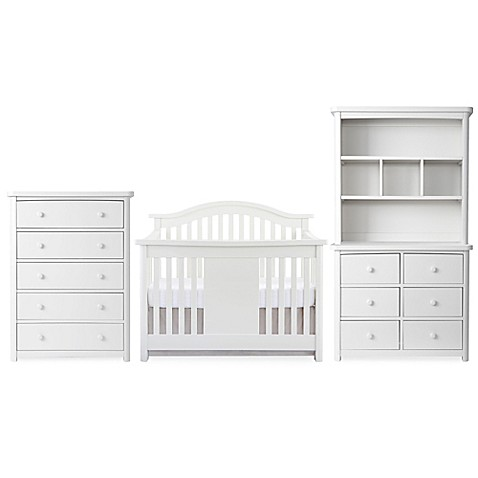 Baby Appleseedu0026reg; Stratford Nursery Furniture Collection In Pure White
