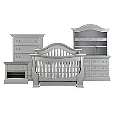 image of Baby Appleseed® Davenport 4-in-1 Convertible Crib in Moon Grey