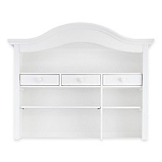 image of Baby Appleseed® Hutch and Bookcase in Pure White