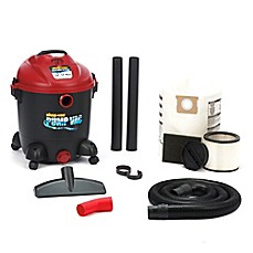 image of Shop-Vac® 12-Gallon 5.0 Peak HP Wet/Dry Pump Vacuum in Black/Red