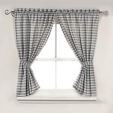 image of arcadia window shower curtain pair