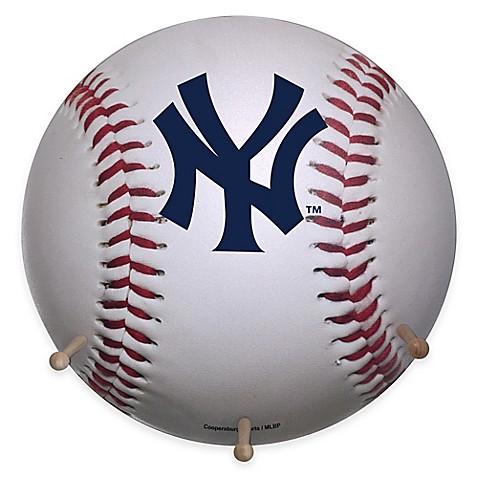 Mlb New York Yankees Team Logo Baseball Coat Rack Bed