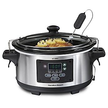 Hamilton Beach® Set U0026amp; Forget® 6 Qt. Programmable Slow Cooker