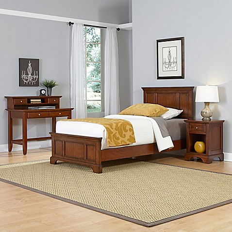 Home Styles Chesapeake 3 Piece Twin Bed Nightstand And
