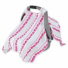 image of aden® by aden + anais® Car Seat Canopy in Light Hearted  sc 1 st  buybuy BABY & Baby u0026 Infant Car Seat Canopies | Car Seat Handle Cushions ...