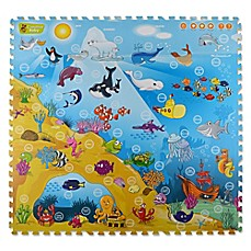 image of Creative Baby Under the Sea 9-Piece i-Mat™