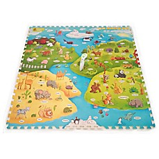 image of Creative Baby My Animal World 9-Piece i-Mat™ with Voice Pen