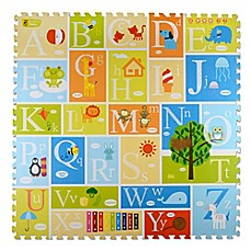 image of Creative Baby 9-Piece Alphabet i-Mat™