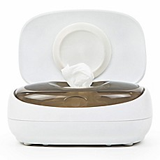 image of Prince Lionheart® Evo™ Wipes Warmer in White/Grey