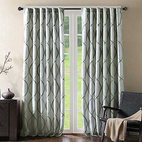 Curtains Ideas curtains madison wi : Madison Park Serendipity Rod Pocket/Back Tab Window Curtain Panel ...