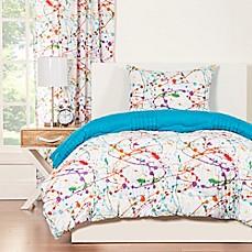 Crayola Splat Reversible Comforter Set